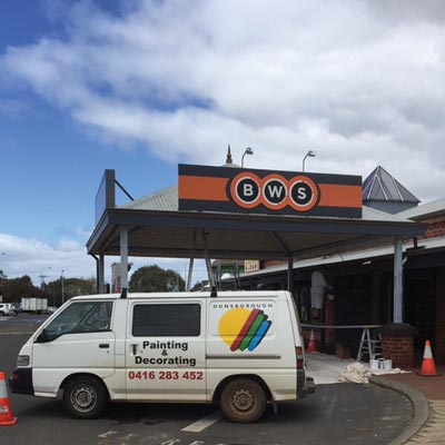 dunsborough painting and decorating commercial