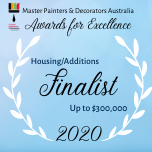 MBA Award for excellence 2020 finalist Dunsborough painting