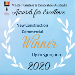 MBA Award for excellence 2020 winner Dunsborough painting